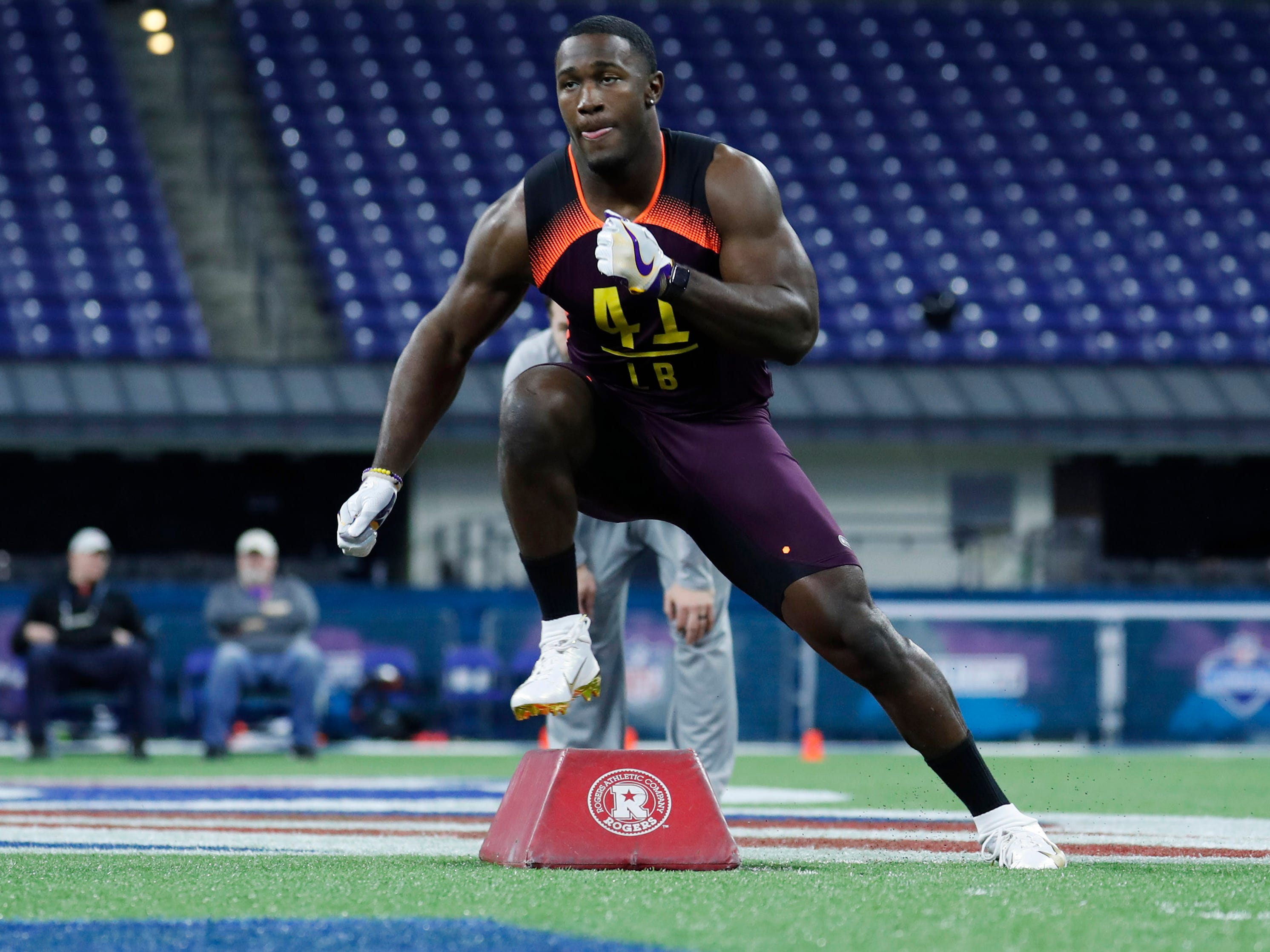 10. Broncos — Devin White, ILB, LSU