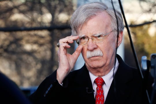 National security adviser John Bolton on March 5, 2019, in Washington, D.C.