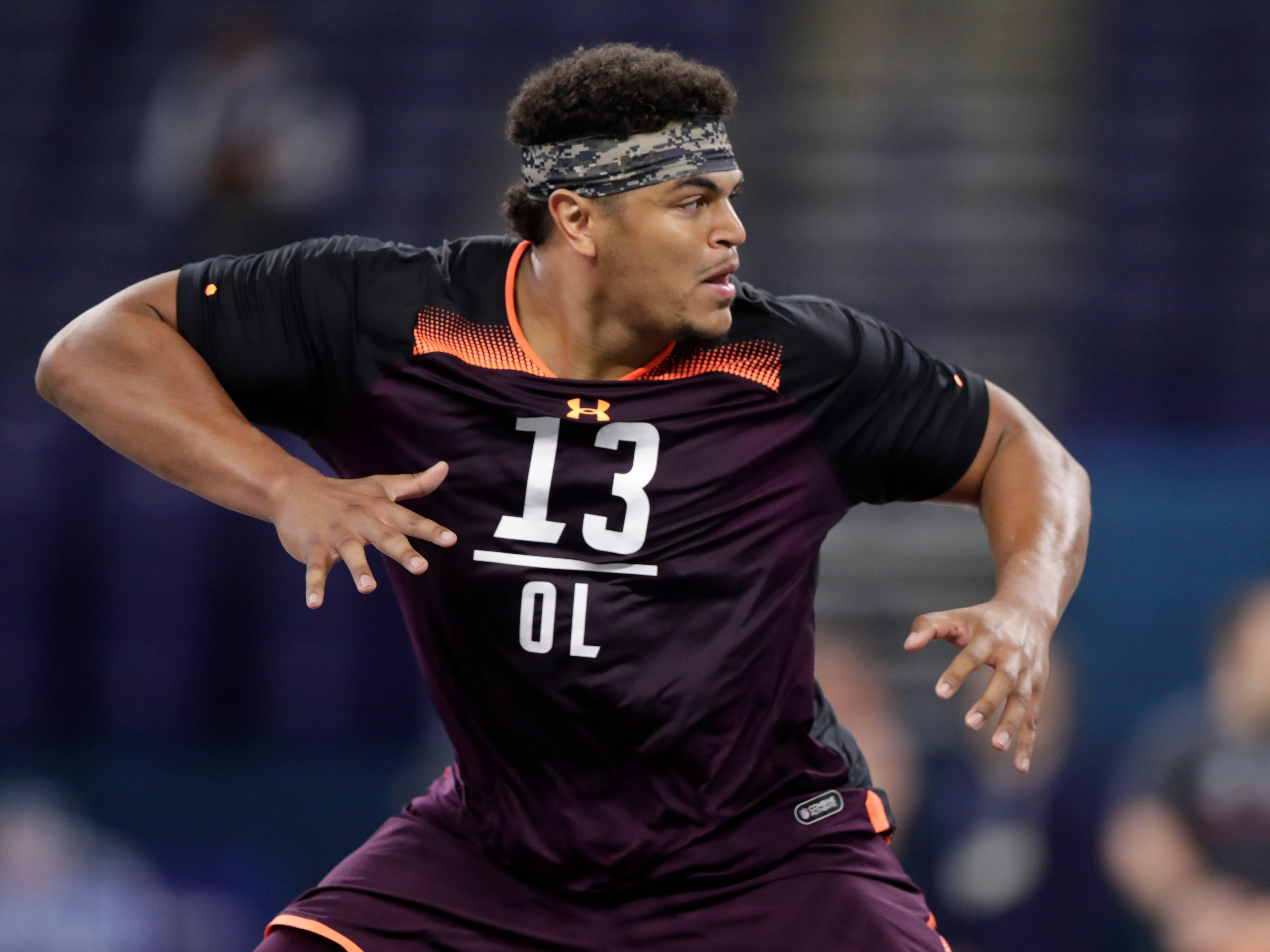 11. Bengals — Andre Dillard, OT, Washington State
