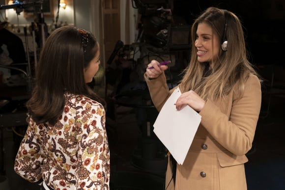"""Danielle Fishel, beloved as Topanga from """"Boy meets World"""" is a woman in transition, going behind the camera as director and readying to become a first-time mom."""