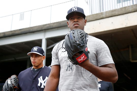 Luis Severino says he should be back in two weeks.