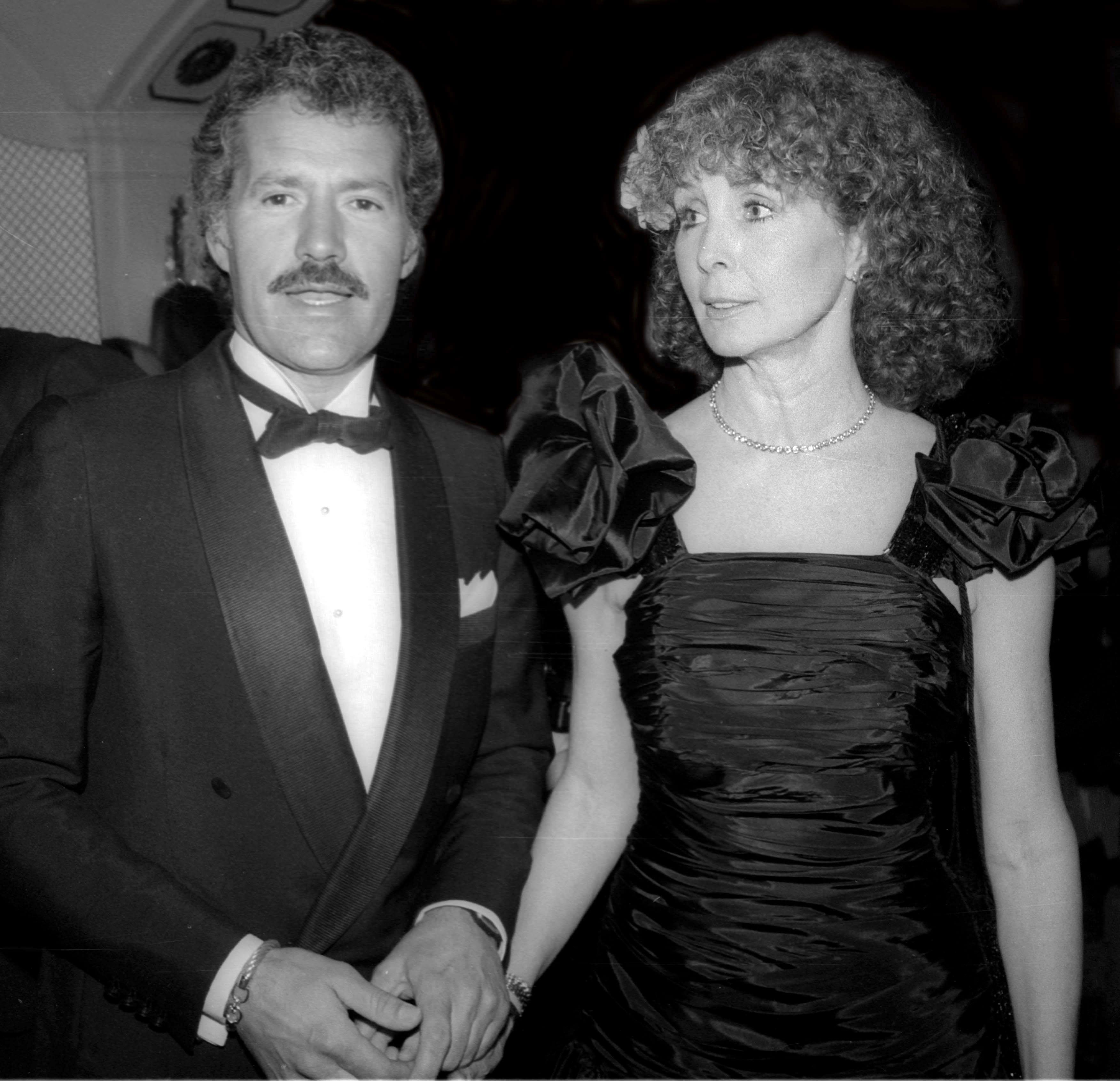 Undated photo of Alex Trebek and Shirley Fonda.