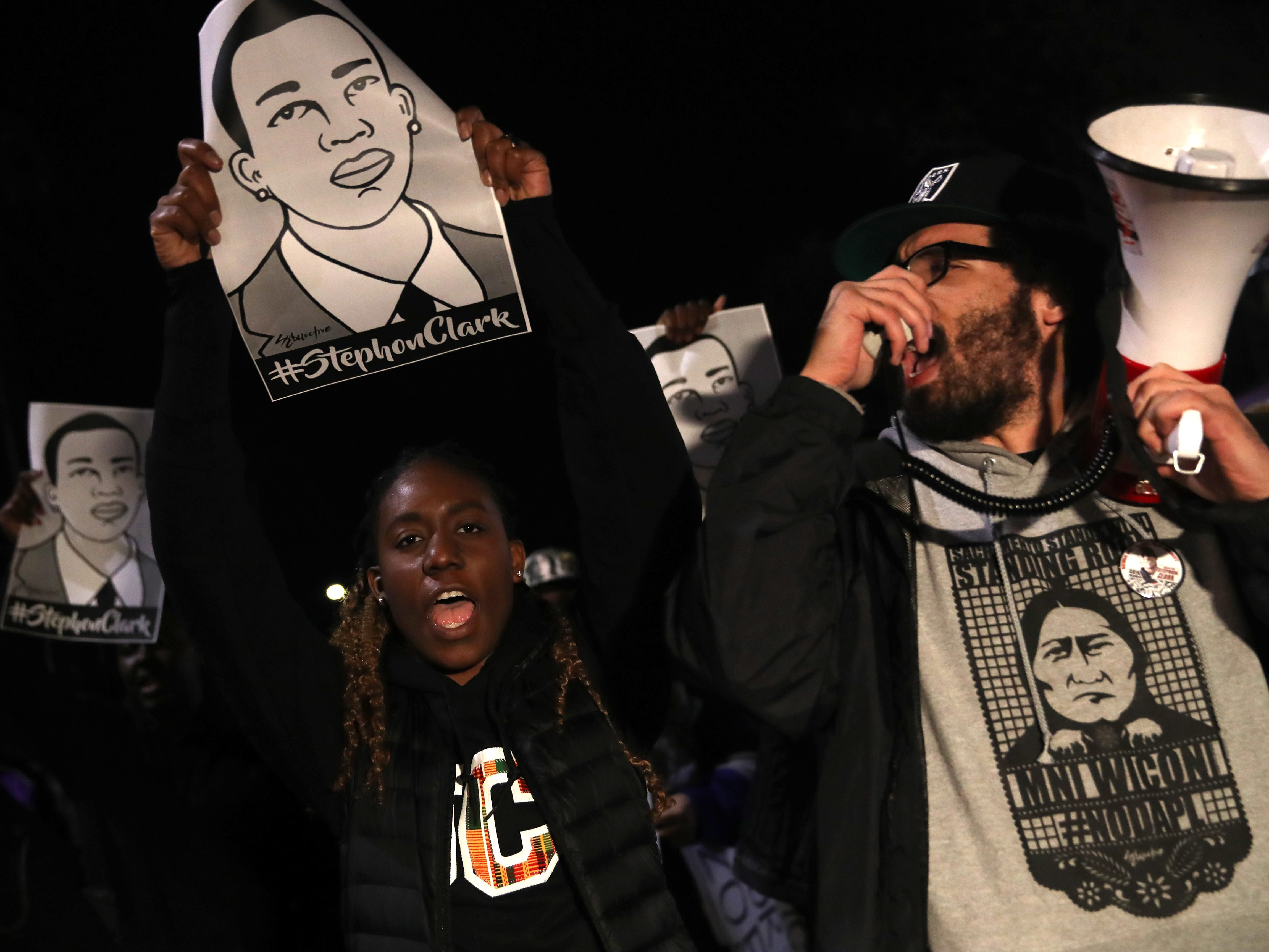 One year after Stephon Clark's death, Sacramento activists, police still at odds