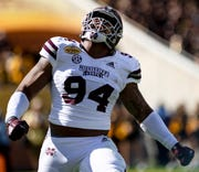 Jeffery Simmons of Mississippi State is recovering from an ACL injury.