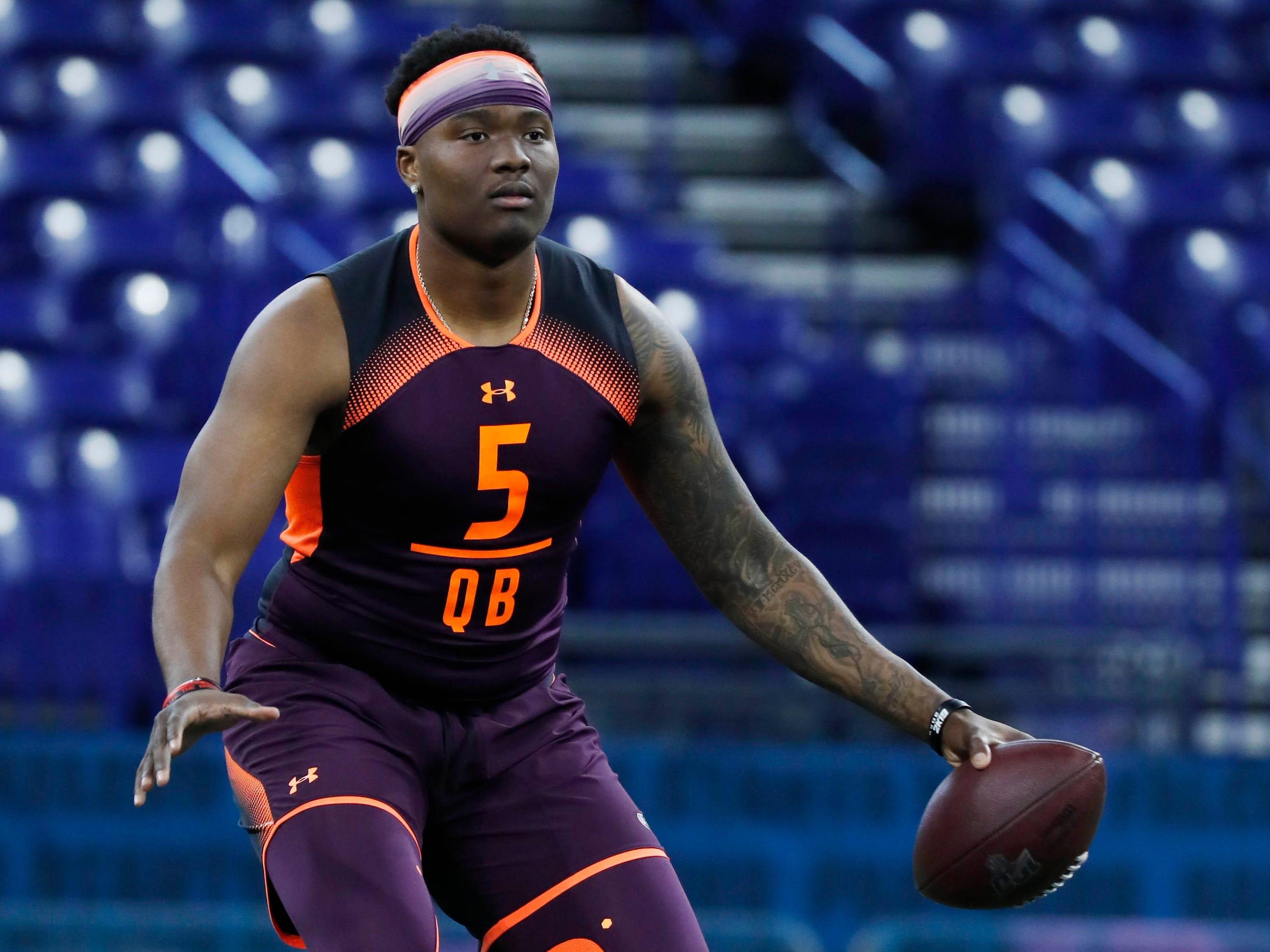 6. Giants — Dwayne Haskins, QB, Ohio State