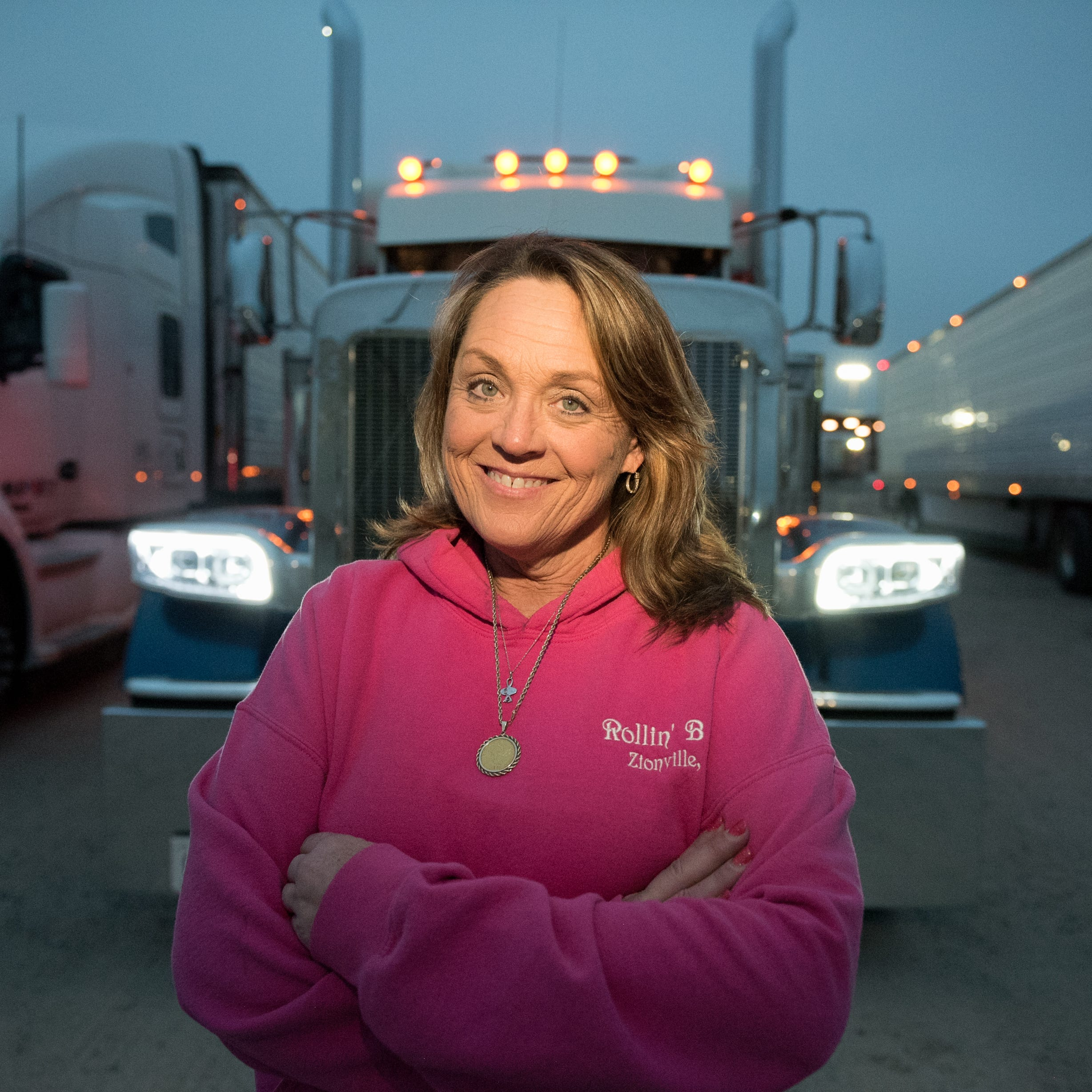 Women are increasingly joining the deadly world of truck driving, confronting sexism and long days