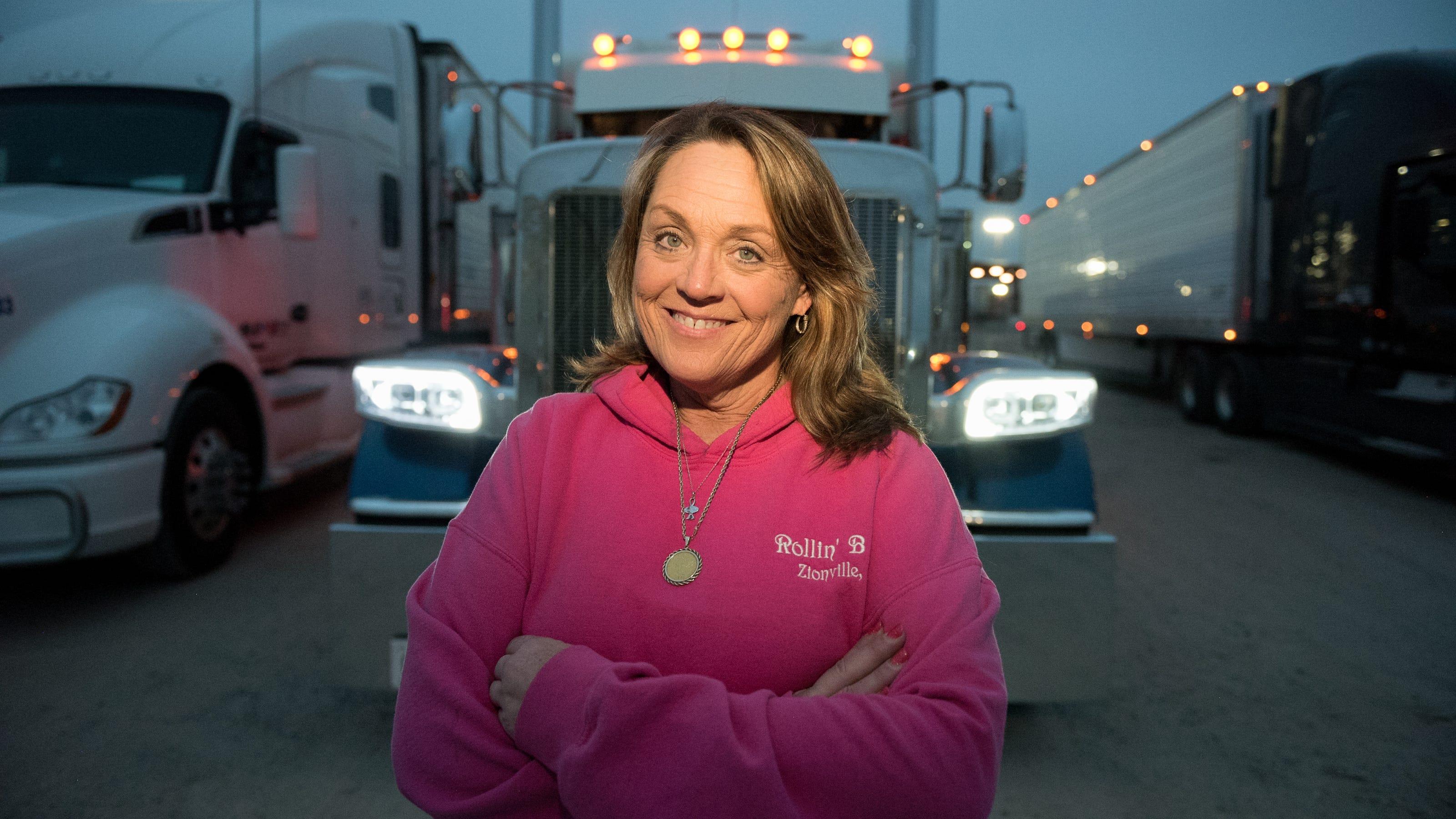 Women Truck Drivers Women Endure Sexism Long Days Away On Big Rigs