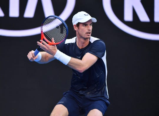 Andy Murray has not played a match since the 2019 Australian Open.