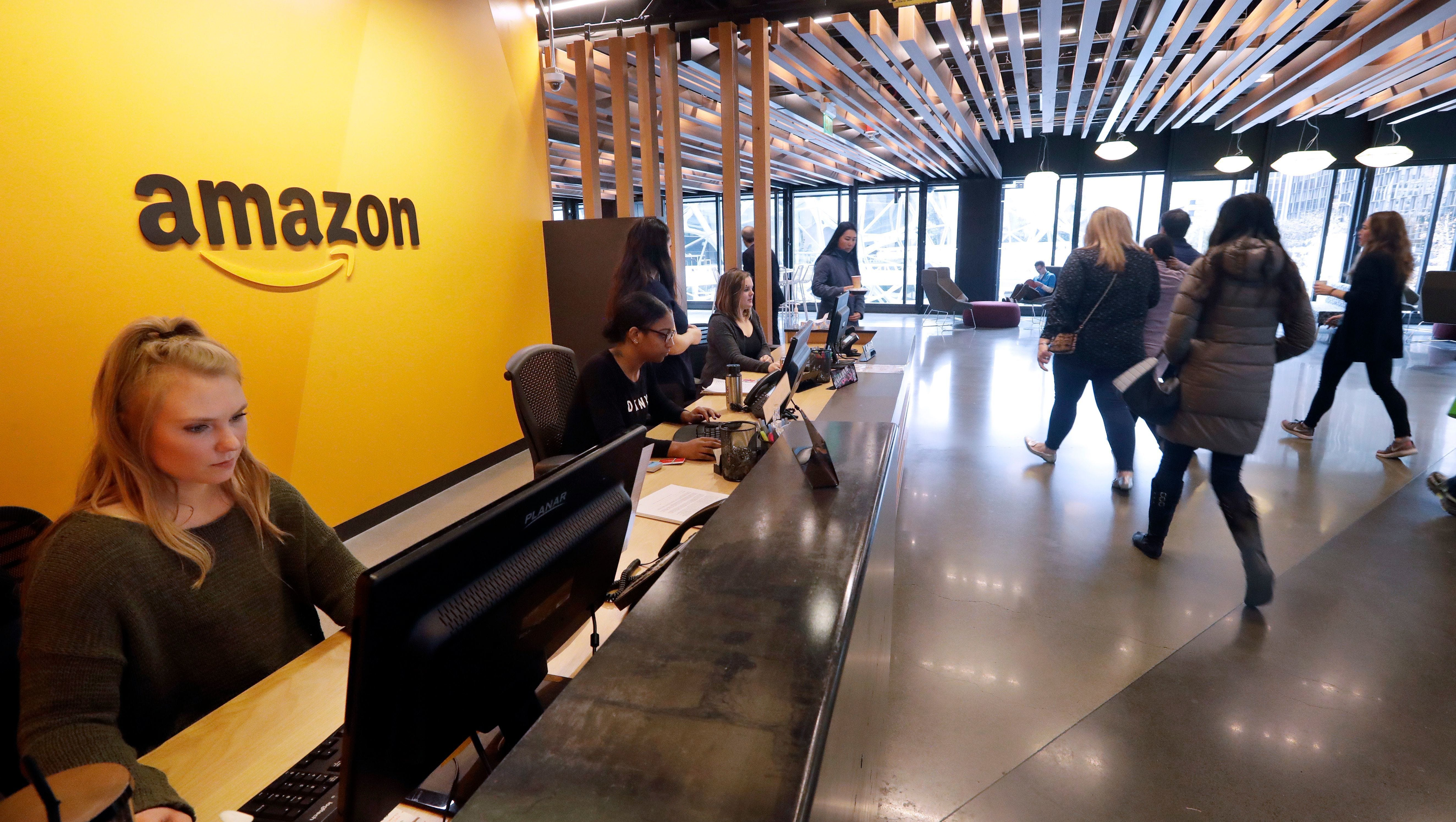 Amazon's 'Momazonians' demand back-up day care, say it's costing them promotions