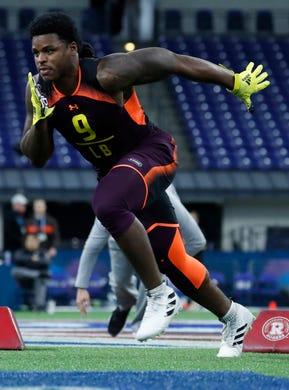 20. Steelers — Devin Bush, ILB, Michigan