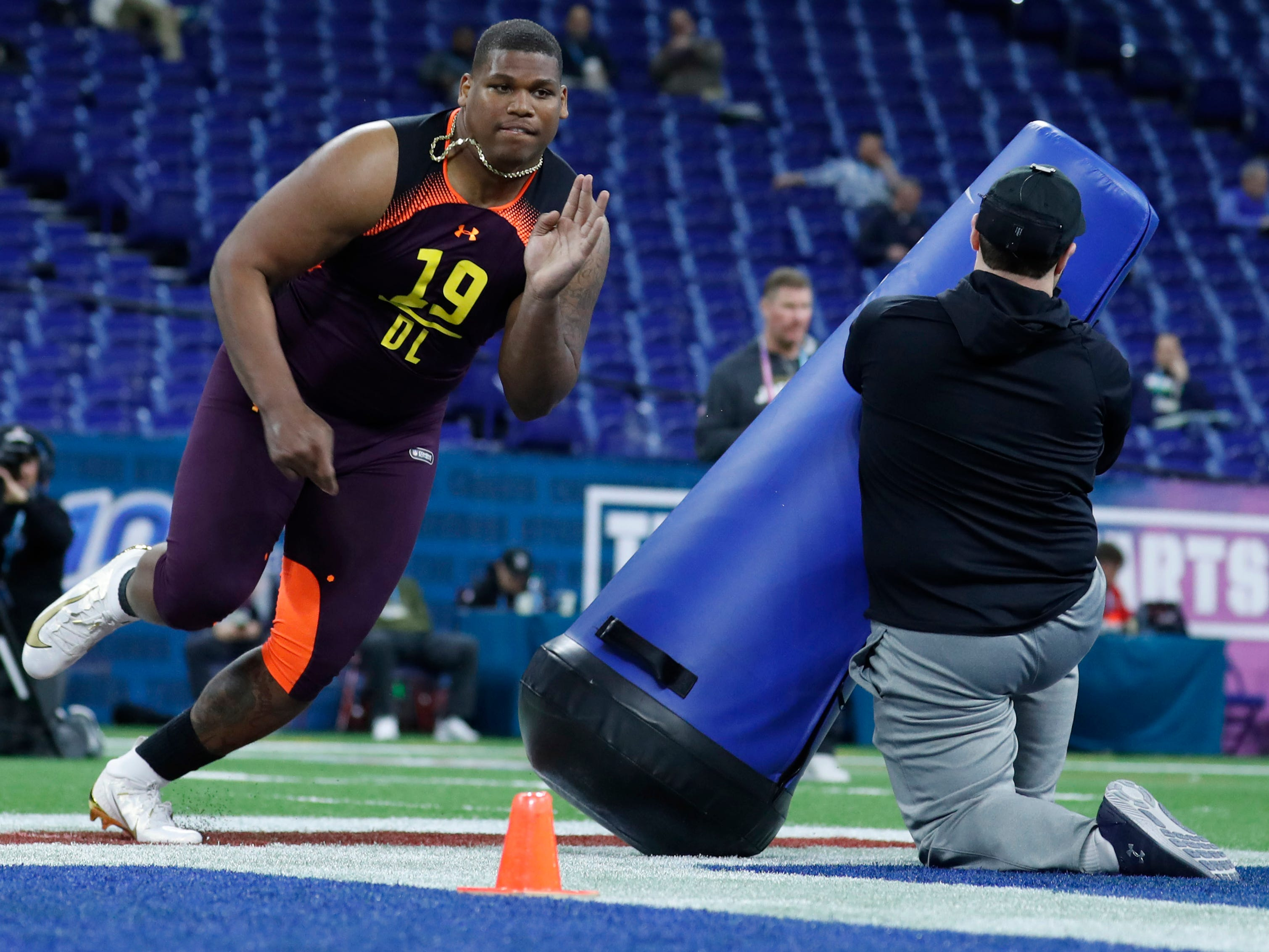 3. Jets — Quinnen Williams, DT, Alabama