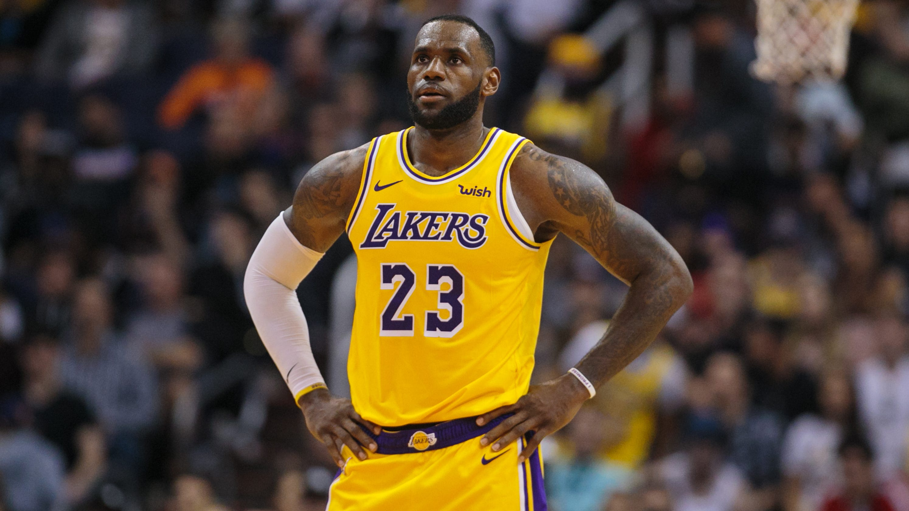 709344661c70 LeBron James  Should Lakers star sit for the rest of the season