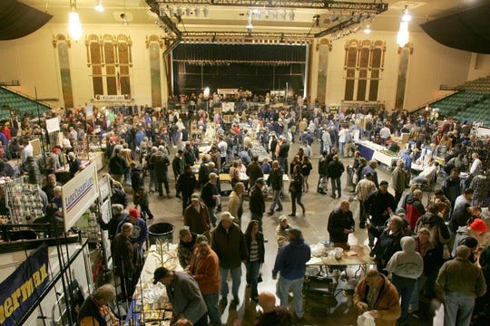 The Asbury Park Fishing Club's annual Fishing Show returns this Sunday at Convention Hall in Asbury Park.