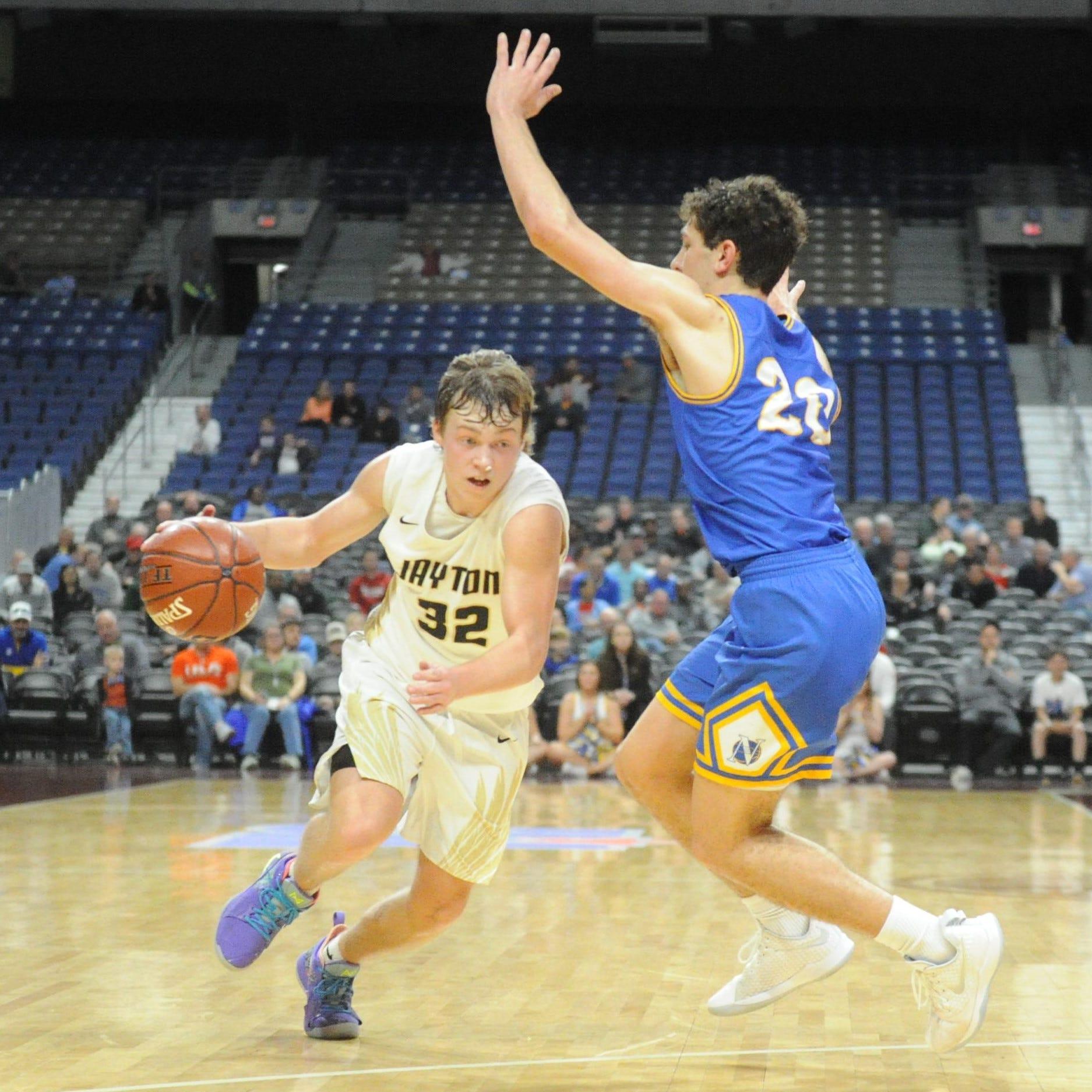 Tye Scogin buzzer-beater downs Nazareth, sends Jayton boys basketball to first state final