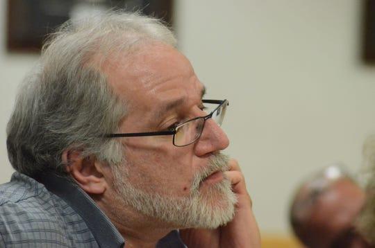 Latshaw Porch at a hearing in May.