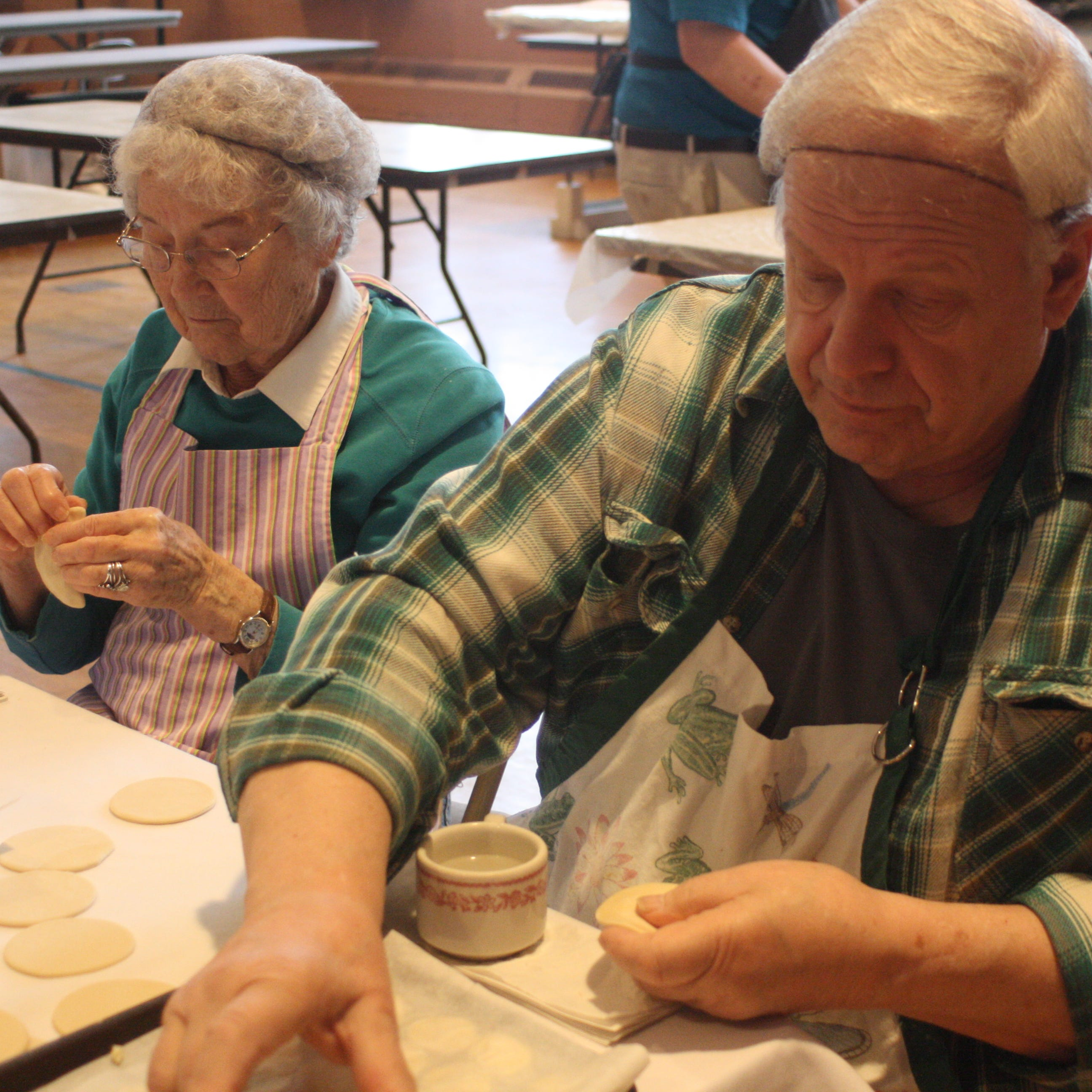 How St. Michael's famous Lenten pirohis are made