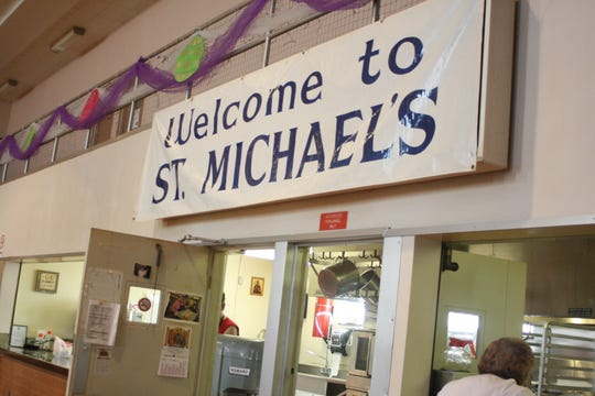 St. Michael's Annual Lenten Pirohi Sale takes place in the church's gym in Binghamton.