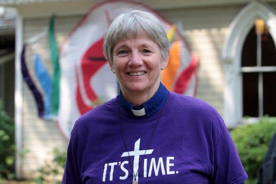 Seabold United Methodist Church's Reverend Cindy Roberts.