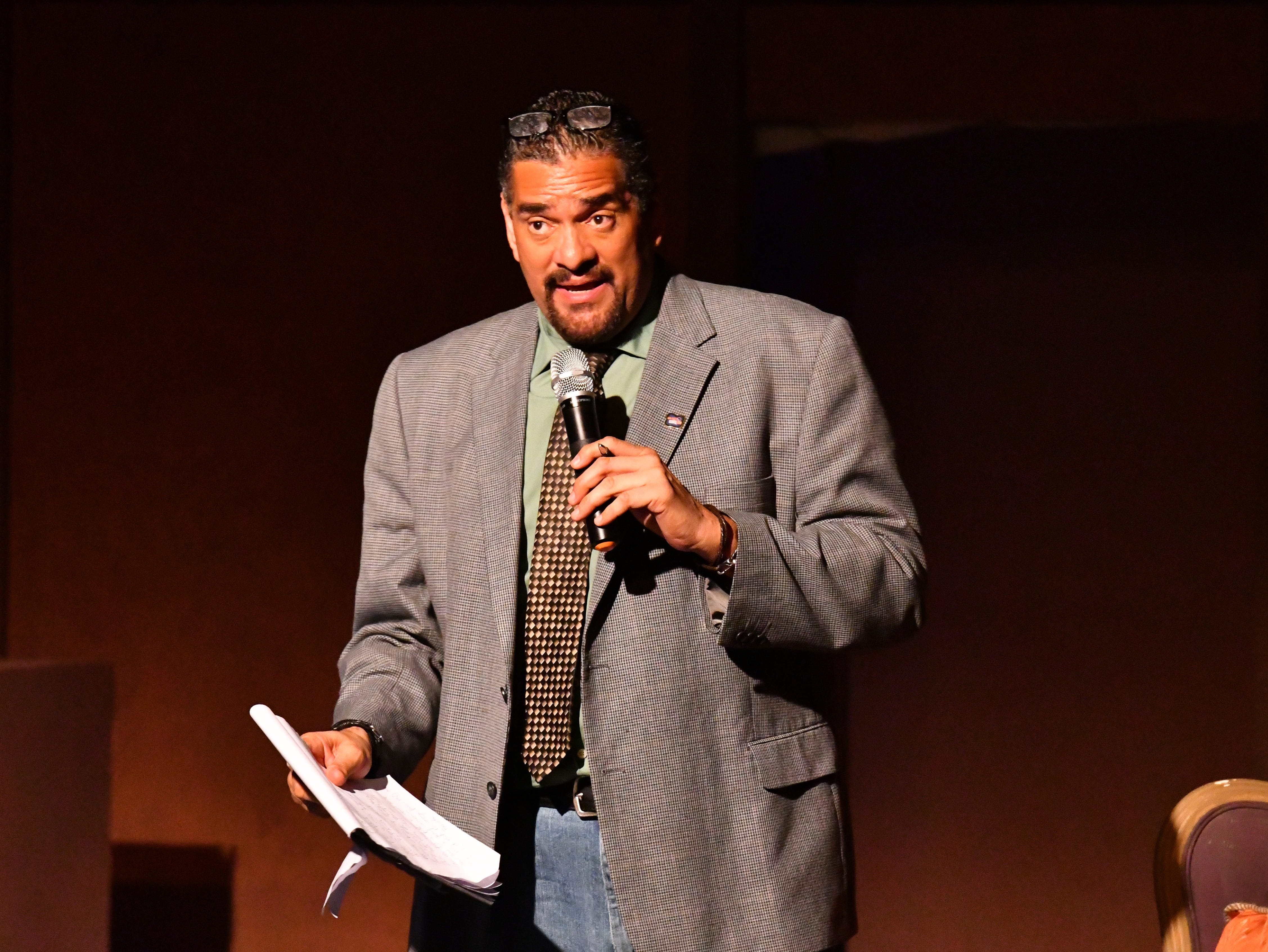 FLORIDA TODAY columnist John A. Torres hosted Murder on the Space Coast Live at the Surfside Playhouse in Cocoa Beach  and now he will emcee Saturday's TEDx event there.
