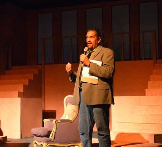 FLORIDA TODAY columnist John A. Torres hosted Murder on the Space Coast Live at the Surfside Playhouse in Cocoa Beach  and now he will host TEDx Cocoa Beach on Saturday