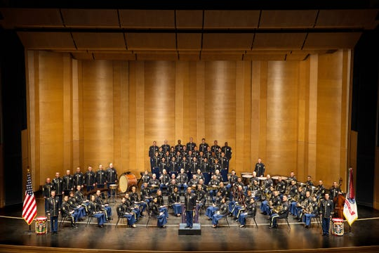 The United States Army Field Band and Soldiers' Chorus plays a free concert March 27 at the Flynn Center in Burlington.