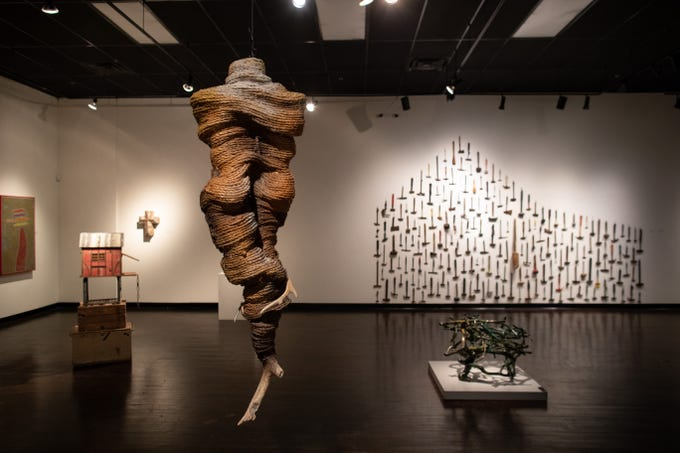 Sharon Kopriva's Bone Tuber at K space Contemporary's From a Distance ... And Back.