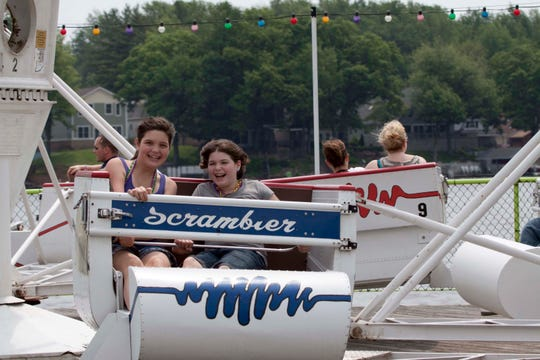 Remember riding on the Scrambler as a kid? It's back at Clementon Park this season.