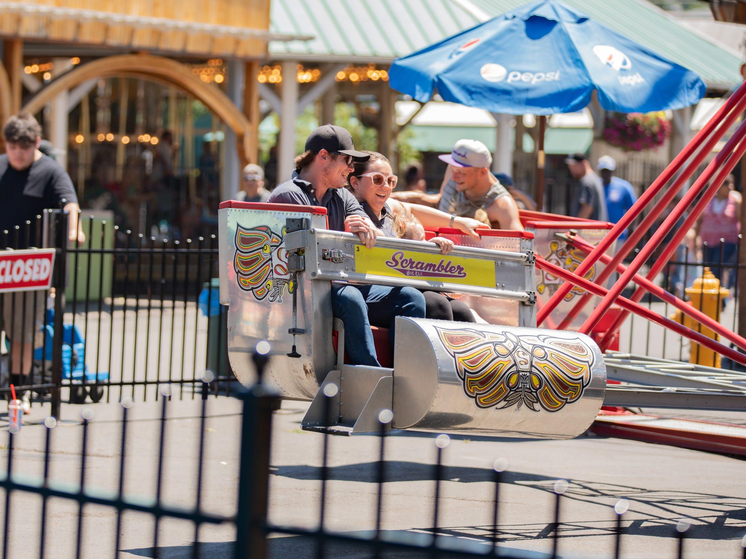 Take a ride on The Scrambler this season at Clementon Park.