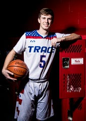 Zane Trace junior Nick Nesser looks to build on the success as Zane Trace's top scorer at the Division II district semifinal at Ohio University's Convocation Center on February 28, 2019. Zane Trace plays Fairfield Union in a Division II district final at the Convo at 3 p.m. on March 10.