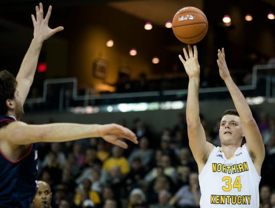 NKU's Drew McDonald scored 18 points, including making the game-winning 3-pointer, as the Norse defeated Oakland to advance to the Horizon League championship game.