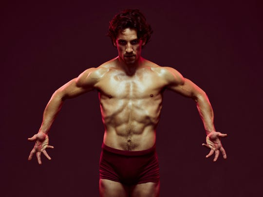 "Longtime Cincinnati Ballet principal dancer Cervilio Miguel Amador. He's seen promoting the company's 2019-2020 ""Director's Cut"" series"