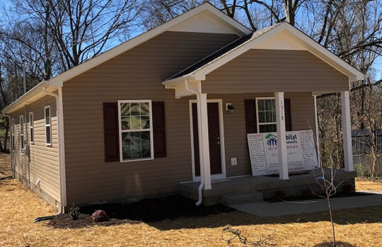 Habitat for Humanity of Montgomery County built this home on Cedar Street for the Sadler family.