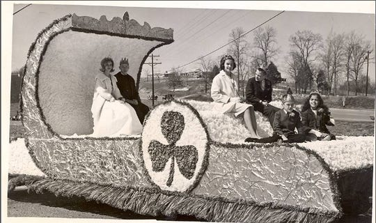 A previous Irish Day celebration in Erin, Tennessee.