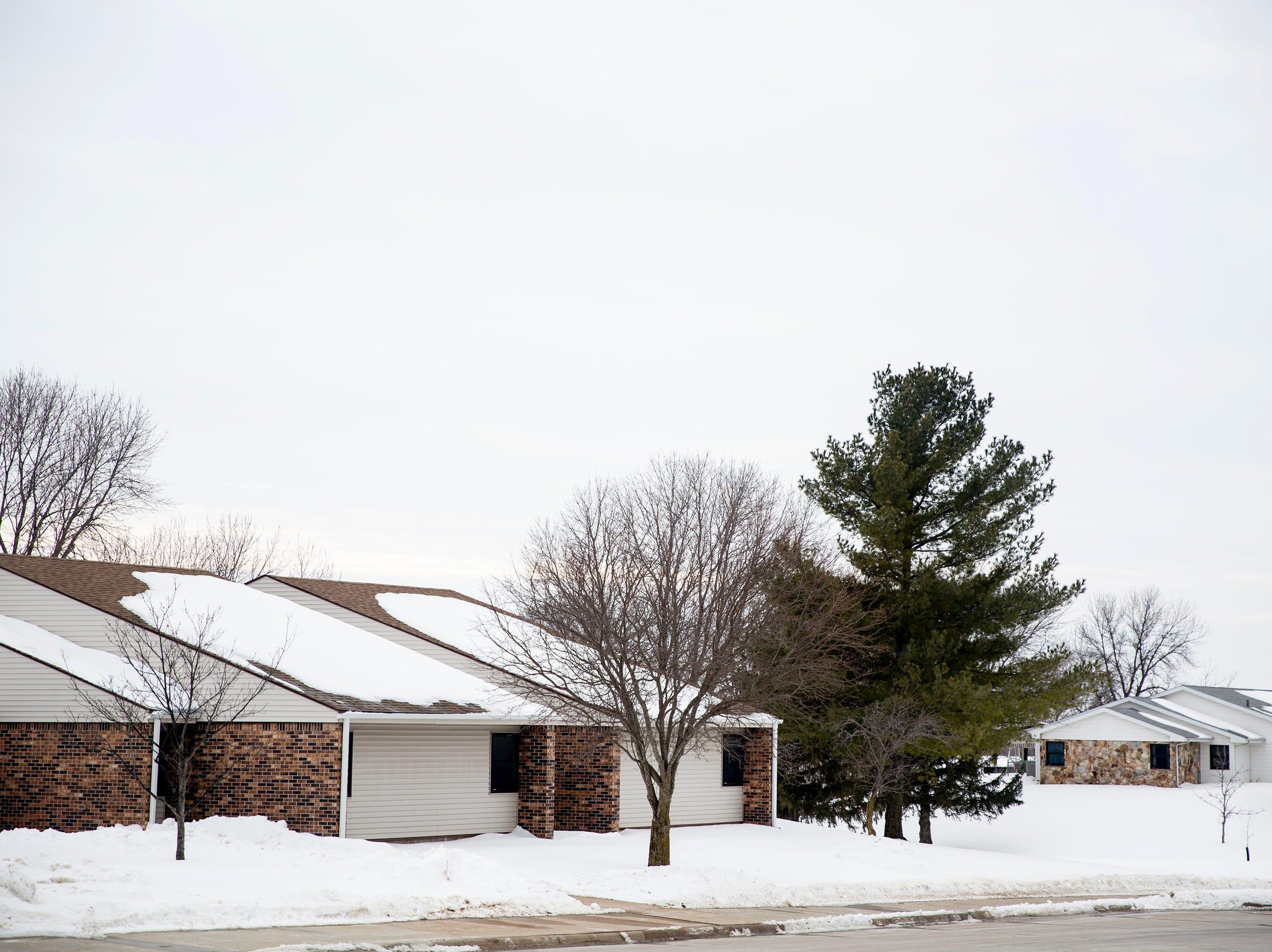 Inside the residential neighborhood at the Glenwood Resource Center, one of two facilities like it in Iowa providing care for people with 
