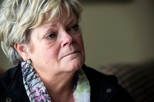 Kathy King gives an interview in her home on Thursday, March 7, 2019, in Glenwood. King worked at the Glenwood Resource Center for 43 years, most recently as a treatment program administrator. The resource center is one of two facilities in Iowa serving people with 