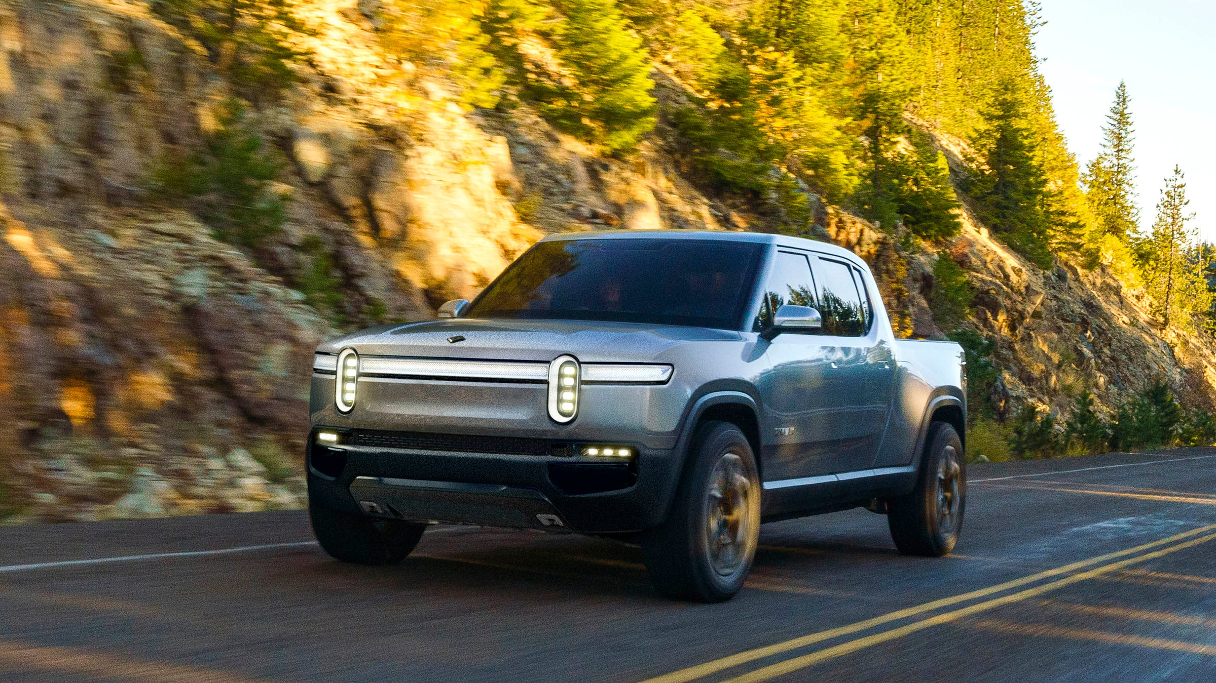 Rivian, an automotive startup with an engineering base outside Detroit in Plymouth Township, unveiled its five-passenger R1T electric pickup concept in conjunction with the 2018 LA Auto Show.