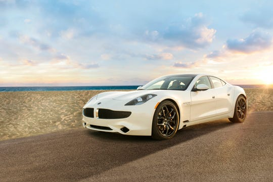 The Karma Revero plug-in hybrid