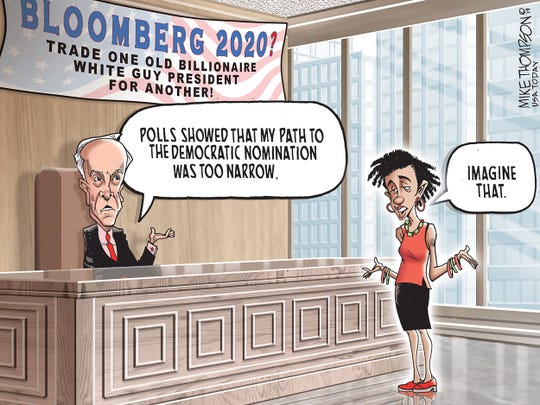 ce664bbcbb7 Stop the presses! A Democrat says they re not running in 2020