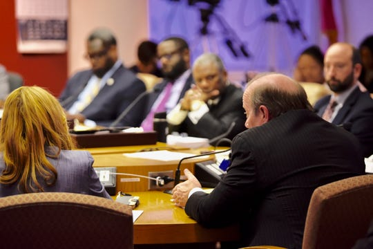 Mayor Mike Duggan delivers his 2020 spending plan to Detroit's City Council on Thursday.