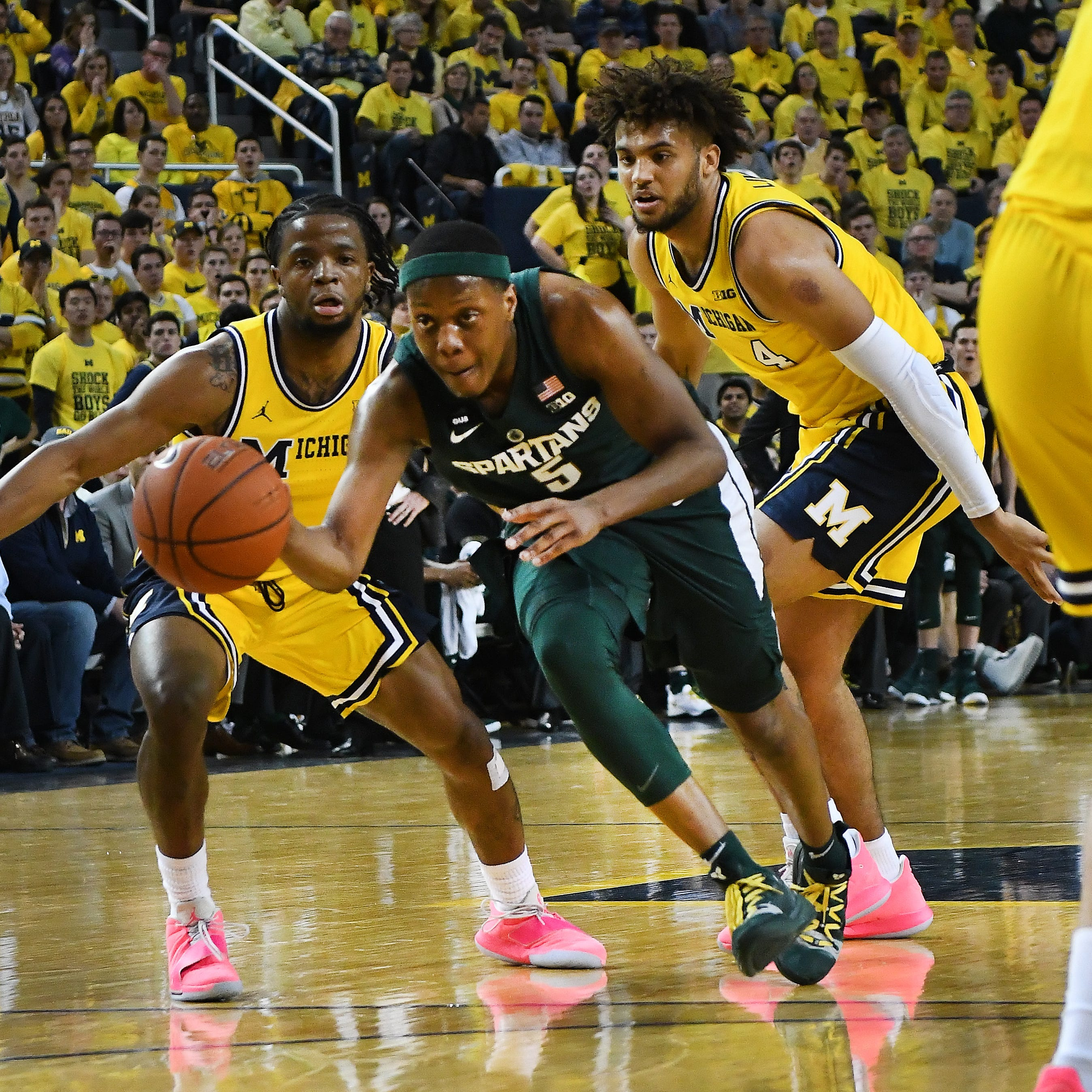 Michigan at Michigan State: Who has the edge?