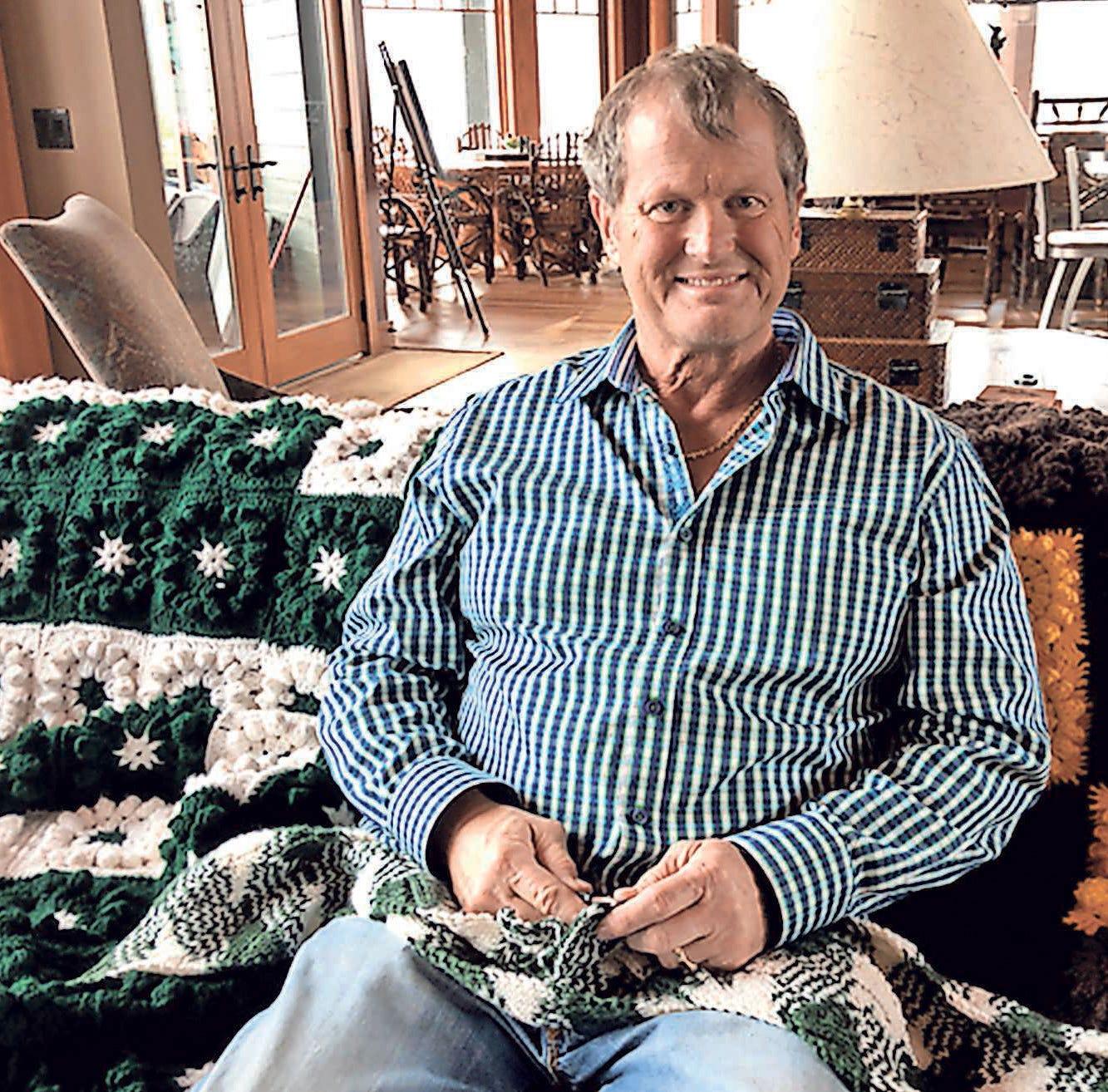Handmade: Orthopedic surgeon loves to crochet