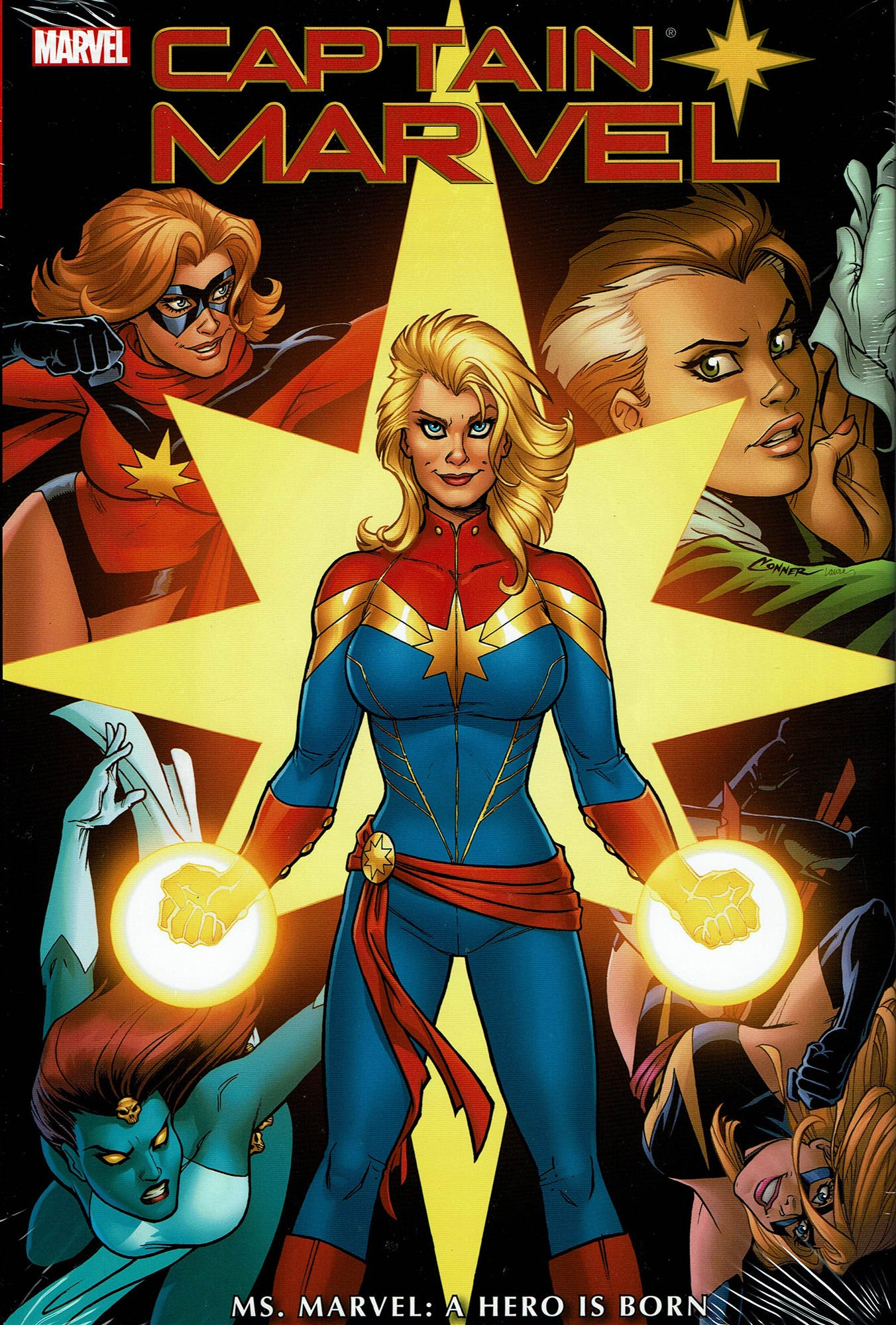 Captain Comics The Many Iterations Of Captain Marvel Marvel got a kicky new black costume and lost her powers and memories while another character, monica rambeau—able to turn into any. the many iterations of captain marvel