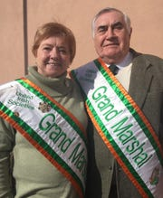 Agnes and Paul Gowdy are grand marshals of the United Irish Societies' 61st annual Detroit St. Patrick's Day Parade. It's on Sunday.