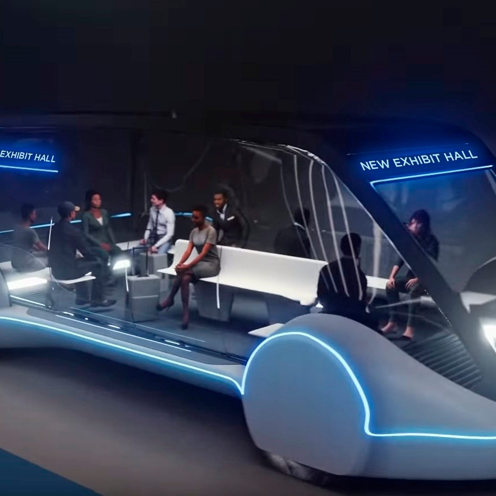 Las Vegas bets on Elon Musk for tunnel transit system