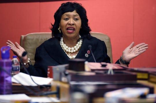 Council President Brenda Jones