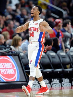 Pistons guard Ish Smith came off the bench to score 19 points in Wednesday's victory over the Minnesota Timberwolves.