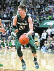 """Matt McQuaid is focusing more on what's at stake on Saturday than on his home career ending: """"I haven't put a lot of thought into it. Really, I'm thinking about the game. It's a chance for a Big Ten championship and all that will happen after the game."""""""