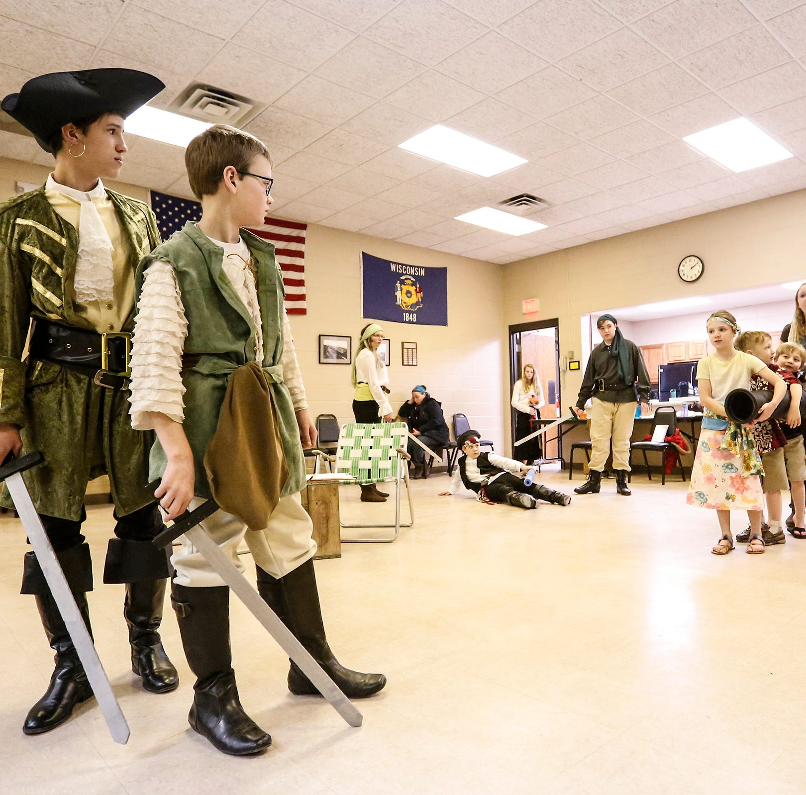 Homeschool Performing Arts Club brings Jolly Roger and the Pirate Queen to life