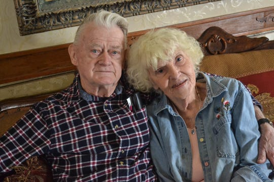 Bernie Nause and Grace Sidell found love late in life. Nause, 91, and Sidell, 84, married on March 1.