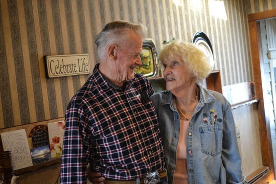 Bernie and Grace met over 50 years ago, lost touch, and renewed their friendship at church. That friendship blossomed into love, and they married on March 1.